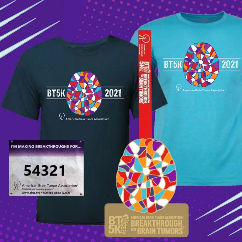 BT5K Your Way Medal T-shirts bib