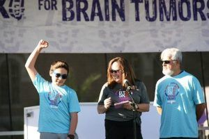 Wendy regains her voice and shares her experience as a brain tumor survivor at the ABTA 5K Run/Walk in October 2019