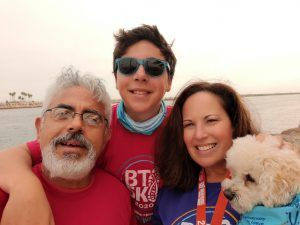 Wendy finds peace and acceptance following the diagnosis of a brain tumor