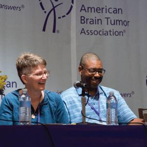National Conference Panelist Couple
